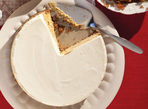 Pumpkin Cheesecake with Hazelnut Crust