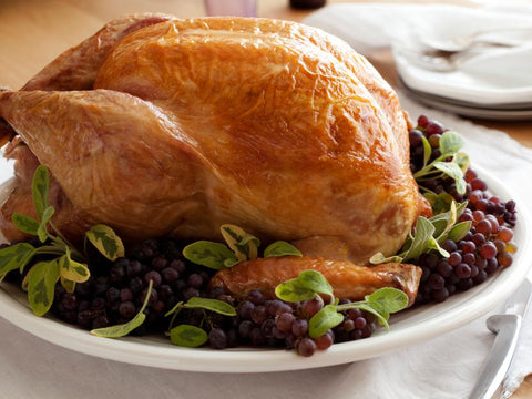 Bay and Lemon Brined Turkey from Dave Lieberman