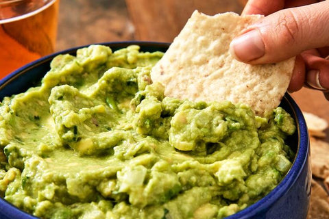 Best-Ever Guacamole by Lena Abraham