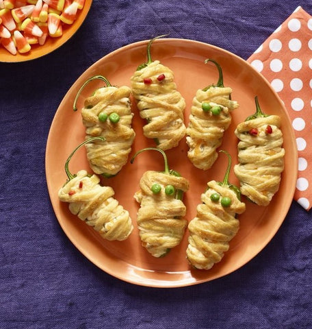 Cheese-Stuffed Jalapeño Poppers Recipe by Woman's Day