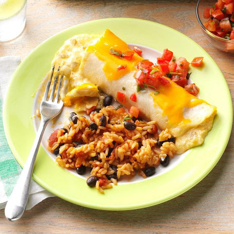 Chicken Enchiladas with Cream of Chicken Soup Recipe by Camille Berry of Taste of Home