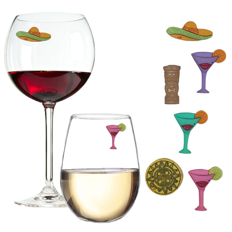Cinco de Mayo Party Magnetic Wine Charms