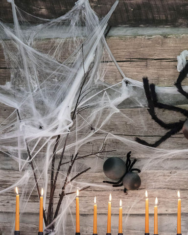 Creepy Spider web Wall by Country Living Staff