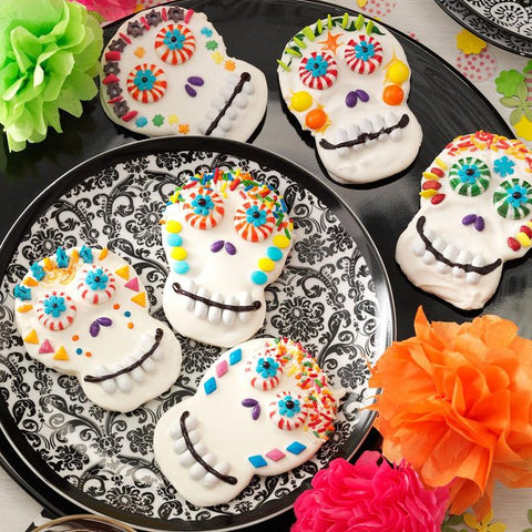 Day of the Dead Cookies by Camille Berry of Taste of Home