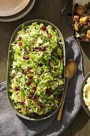 Lemony Brussels Sprout Salad by The Good Housekeeping Test Kitchen