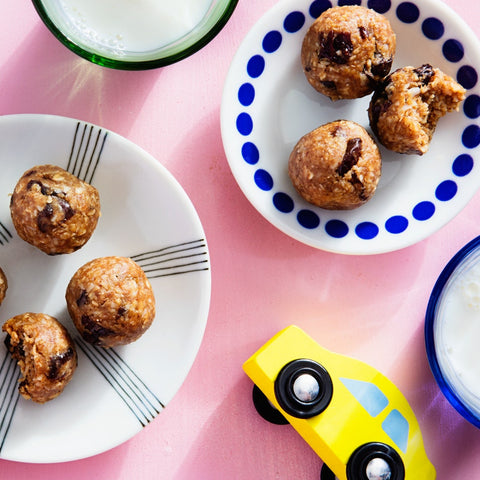 No-Bake Energy Bites with Oats and Dried Cherries Recipe by Rhoda Boone