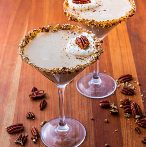Pecan Pie Martini by Sienna of Delish