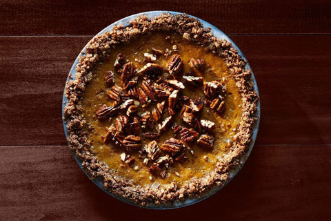 Pumpkin Pie with Oat-Pecan Crust by Marian Cooper Cairns and Dawn Perry of Country Living