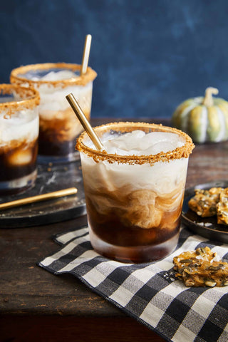 Pumpkin Spice White Russian by Marian Cooper Cairns of Country Living