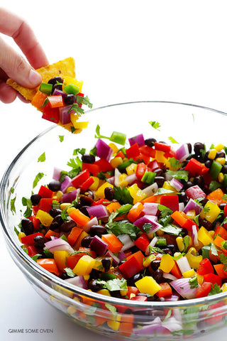 Rainbow Salsa by Gimme Some Oven
