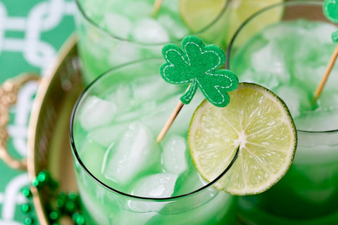Shamrock Sour Cocktail by Courtney Whitmore of Pizzazzerie