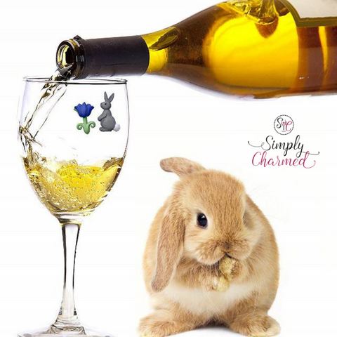 Easter Magnetic Wine Charms