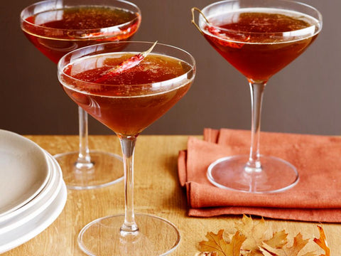 Spiced Bourbon, Beer, and Maple Martinis by Giada De Laurentiis of Food Network