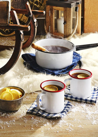 Warm Tea-and-Cider Punch by Kate Merker and Taylor Murray