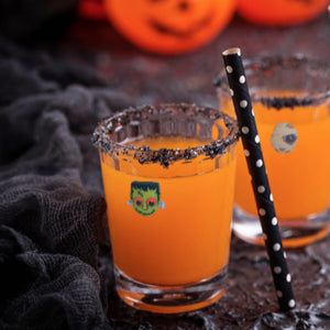 Halloween glass markers