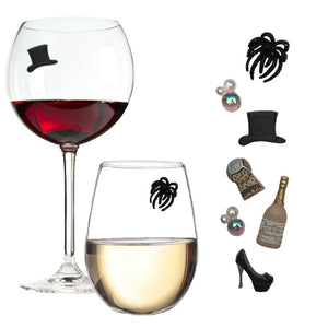 New Years Eve wine charms
