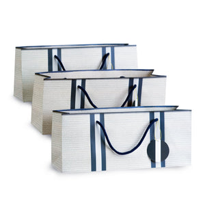 nautical wine gift bags