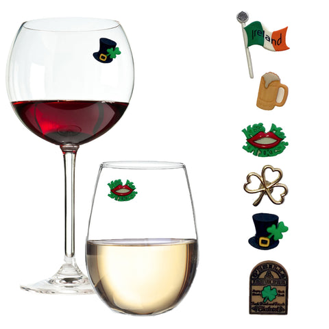 Irish wine charms gifts party favors