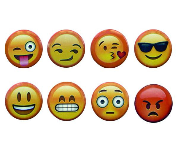 Emoji Charms - Set of 8