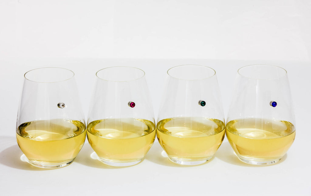 wine charms stemless magnetic Simply Charmed