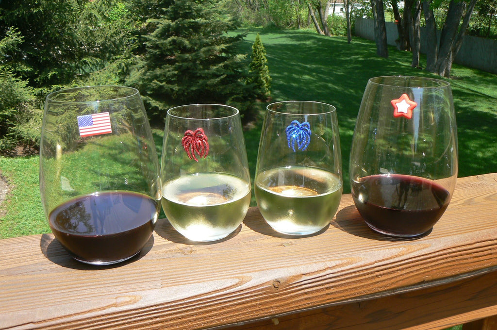 wine glass charms stemless Simply Charmed