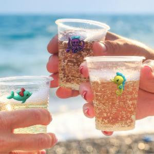 Ocean Treasures - Under the Sea Wine Charms