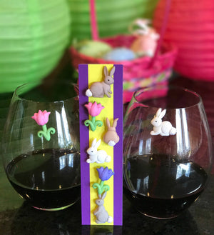 wine charms Simply Charmed Easter