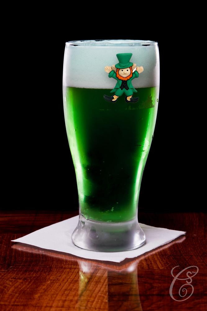 Simply Charmed green beer leprechaun