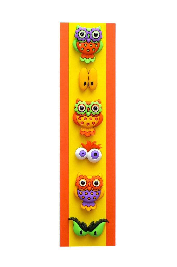 Owl glass markers