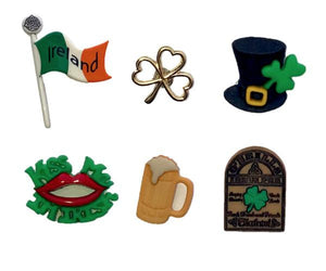 Irish wine charms markers