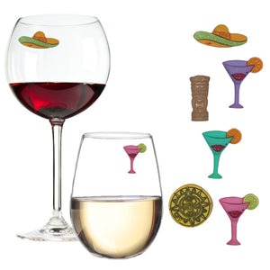 Cinco de Mayo Party Wine Charms