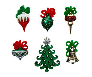 Christmas wine charms magnetic