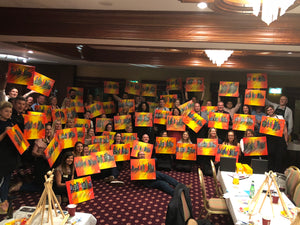 Costa enjoy Paint Night