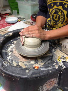 CREATIVE CAVERN POTTERS WHEEL - FAMILY / GROUP SESSION