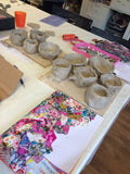 Children's Pottery Clay Party - Pinch Pot £160