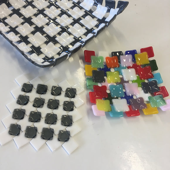 Glass Fusing Patchwork Dish - Wednesday 24th January 2018 - 7:30pm