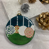 Paint Night Ceramic Christmas Baubles