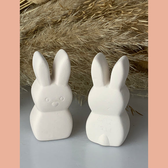Pottery Painting Cute Bunny