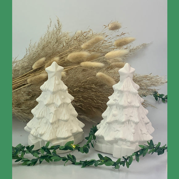 Paint your own Pottery - Christmas Tree