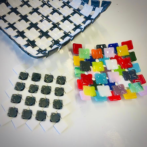 Glass Fusing Patchwork Dish - Winnersh - Thursday 10th October 2019 - 7pm