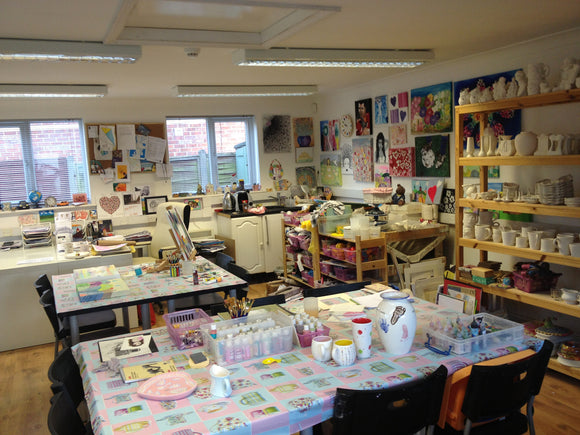 The Creative Cavern Monday Craft Club 8th Jan- 19th Mar 2018 (10 weeks)