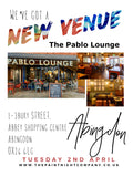 ABINGDON 2ND APRIL 2019 Paint Night @ The Pablo Lounge