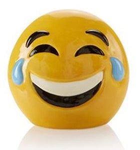Pottery Painting Laughing Emoji Moneybank