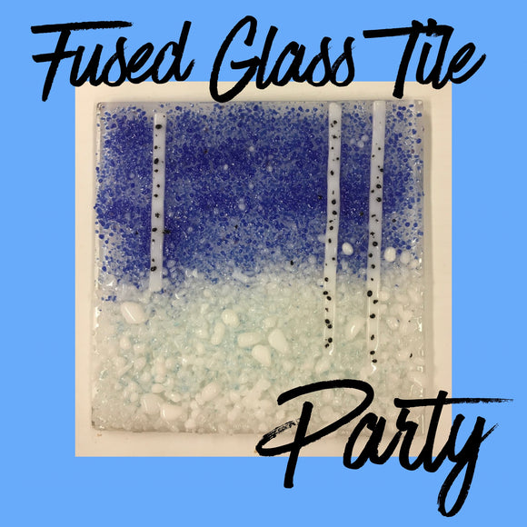 Children's Fused Glass Party £180