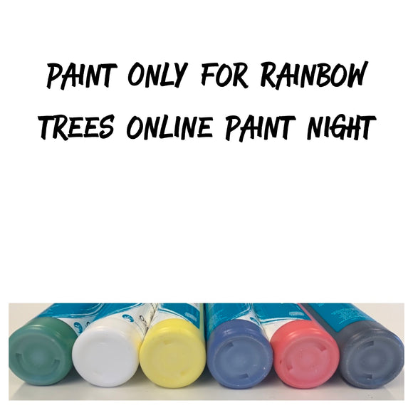 Rainbow Trees - Paints Only