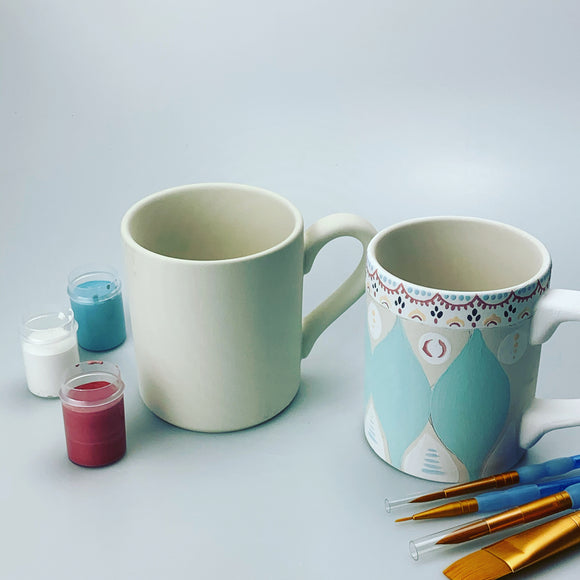 Paint Your Own Pottery - Mug - Cereal Bowl - Kiln Fired