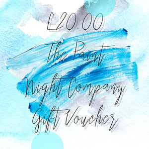 The Paint Night Company Gift Voucher £20