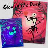 HALLOWEEN Glow In The Dark ZOOM Paint Night Saturday 31st October 2020