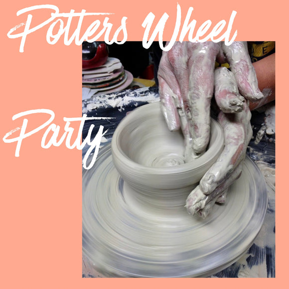 Children's Ceramic Potters Wheel Party £150