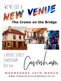 CAVERSHAM 20th MARCH 2019 Paint Night @ The Crown on the Bridge